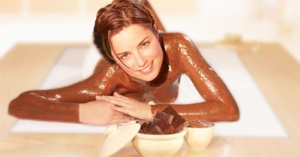 шоколадный массаж и кофейный пилинг