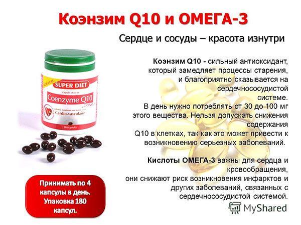 Коэнзим Q10 и жизненно важные органы