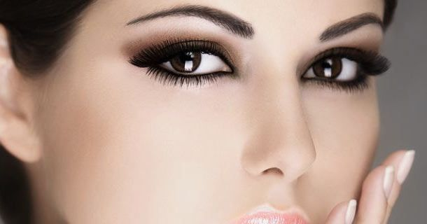 как красить глаза