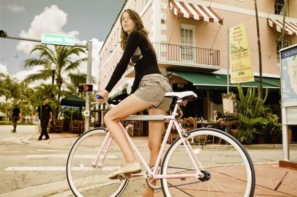 Влияние велосипеда на женский организм
