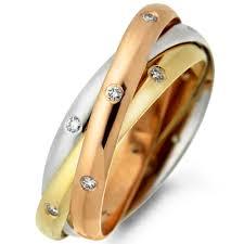 Кольца с бриллиантами Cartier