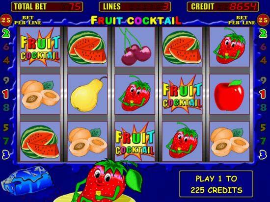игровые аппараты фруктовый коктейль