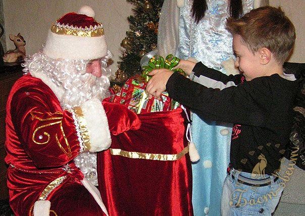 Встреча с Дедом Морозом: как подготовить ребёнка?