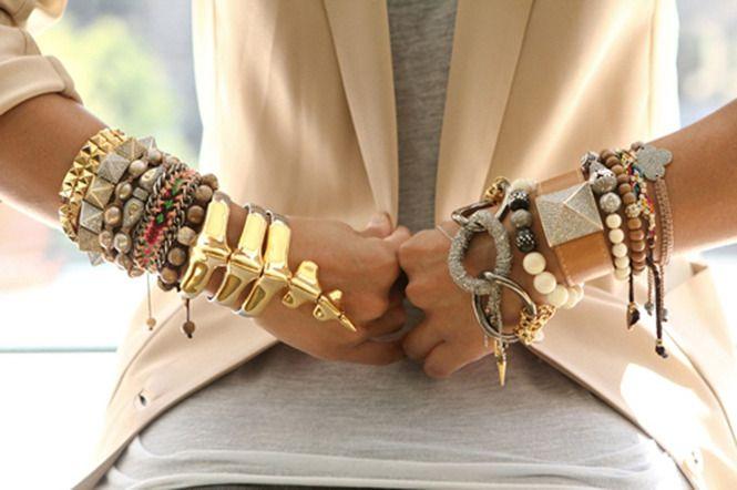 Популярность браслетов: мода сезона