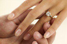 Какое кольцо купить для помолвки