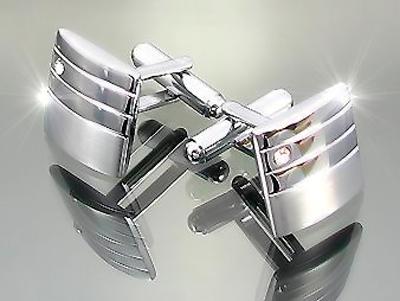 мужские запонки из серебра