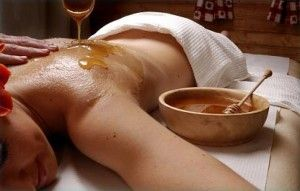 Мед в массаже