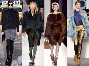 шубы тенденции моды