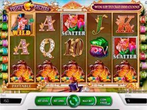 Игровые автоматы Piggy Riches максимальная выигрышная комбинация