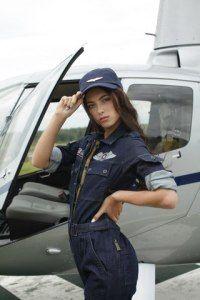 одежда в авиационном стиле