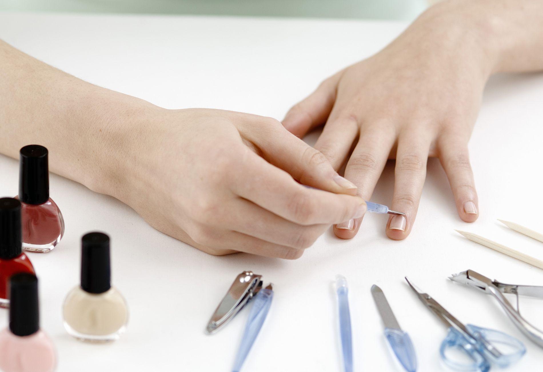 Обрезной маникюр своими руками