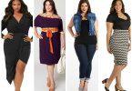 Мода для полных женщин 2016