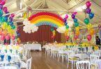 как оформить праздник воздушными шарами