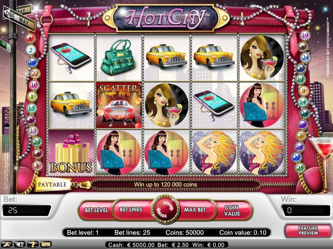 hot city описание игрового автомата