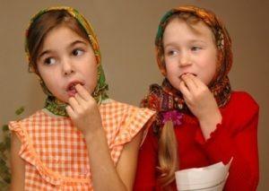 Семечки в детском рационе