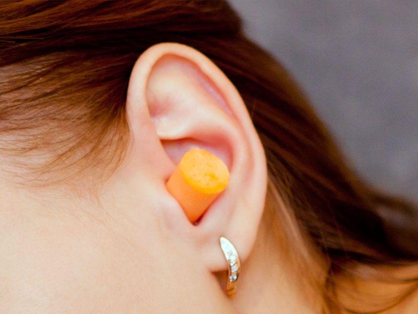 Как сделать затычку для ушей