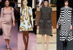 Платья, модные зимой 2016-2017