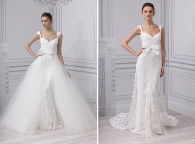 Пышные свадебные платья трансформеры