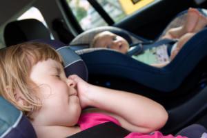 укачивание в автомобиле