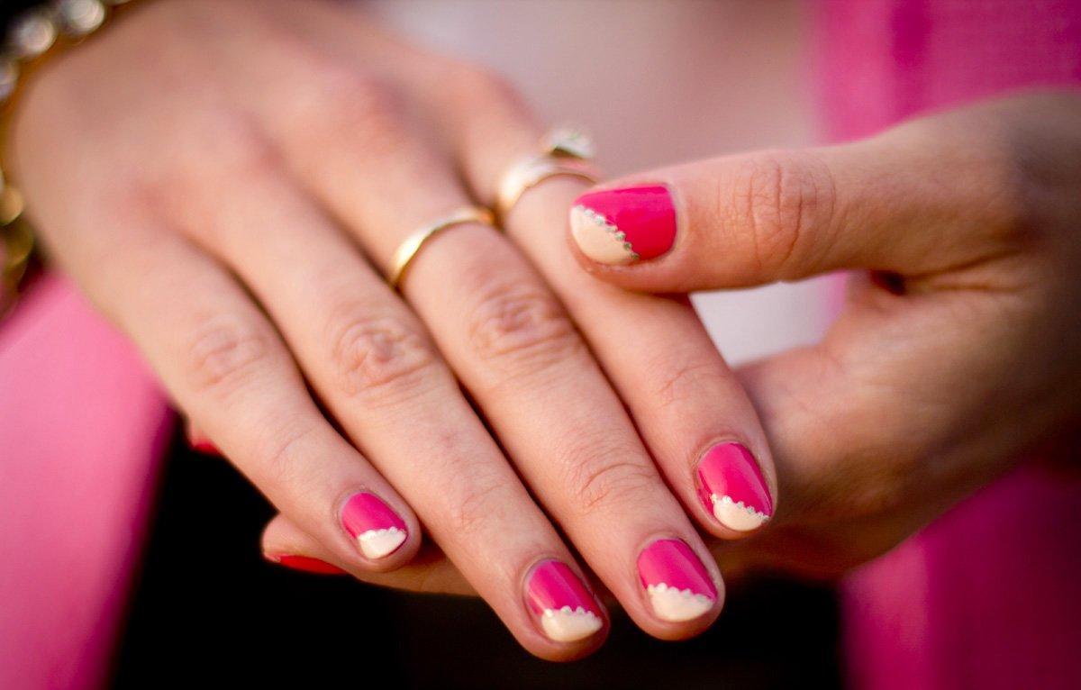 Фото дизайн маникюра на короткие ногти