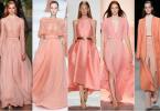 Модные цвета лета 2017: сочный персик