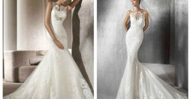 Свадебное платье Русалка