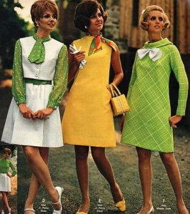 Мода 60-х