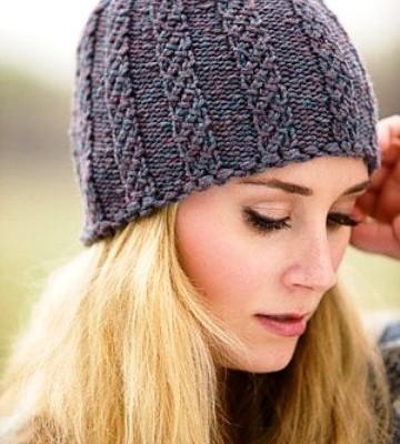 Вязать шапку женскую