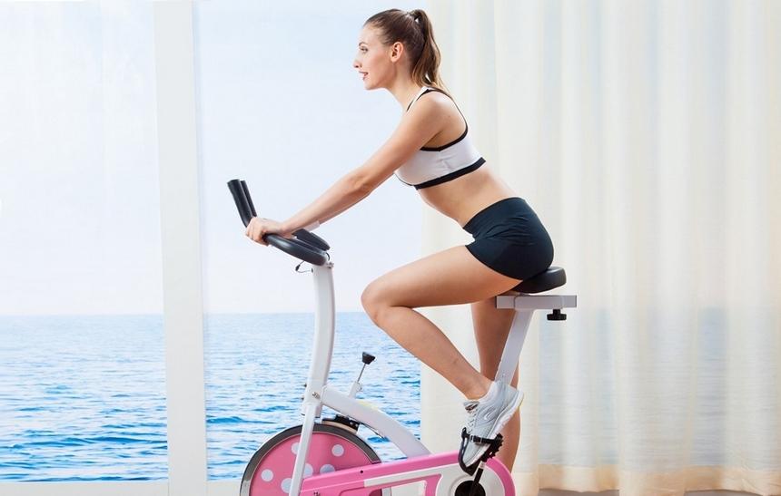 Можно похудеть занимаясь на велотренажере