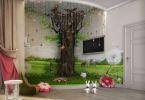 Сказочная комната для ребенка