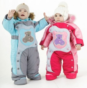 Детские комбинезоны