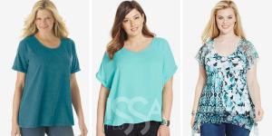 Женские футболки больших размеров - магазин IssaPlus