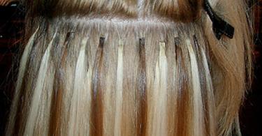 наращенные волосы