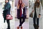 аксессуары к пальто