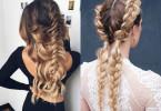 Плетение волос не повредит прическе