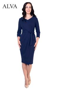 платье алва синего цвета