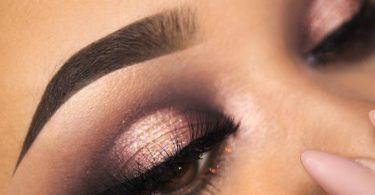 макияж карих глаз