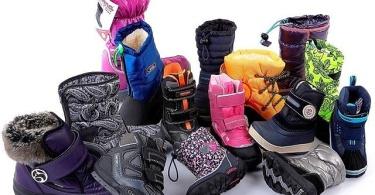 Актуальные модели детской зимней обуви для девочек