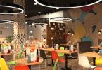 Дизайн кафе и ресторана