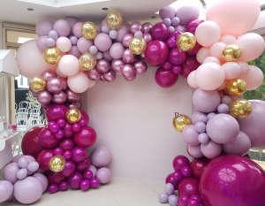 украсить шарами