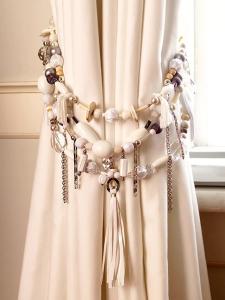 Как декорировать шторы своими руками