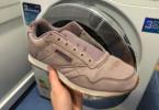 стирать кроссовки из замши в стиральной машине